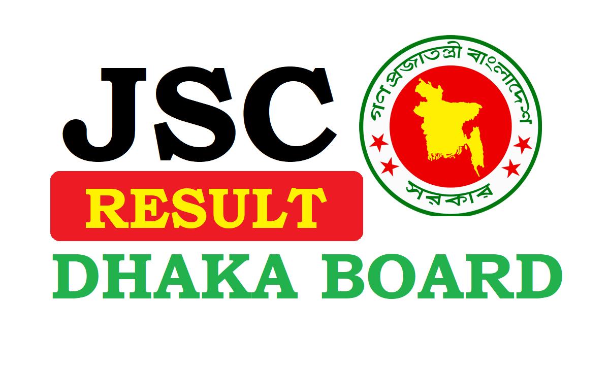 JSC Result 2019 Dhaka Board with Marksheet